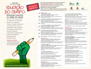 programa9 Educacao Campo