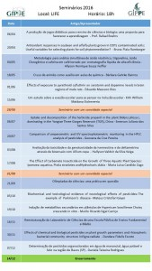 Cronograma 2016