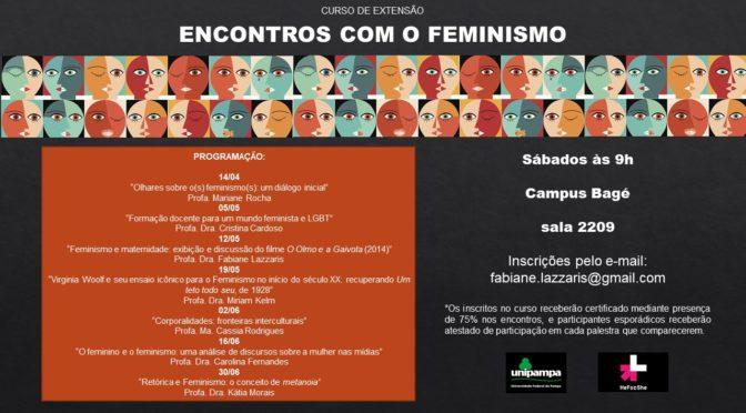 Projeto de Extensão ENCONTROS COM O FEMINISMO