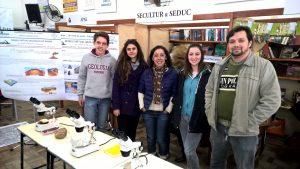 Equipe do Museu Presente na XXII Feira do Livro de Caçapava