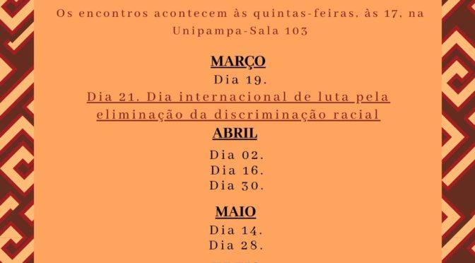 AGENDA DE 2020/01 DO NEABI MOCINHA