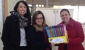 NInA entrega livros acessíveis no campus Jaguarão