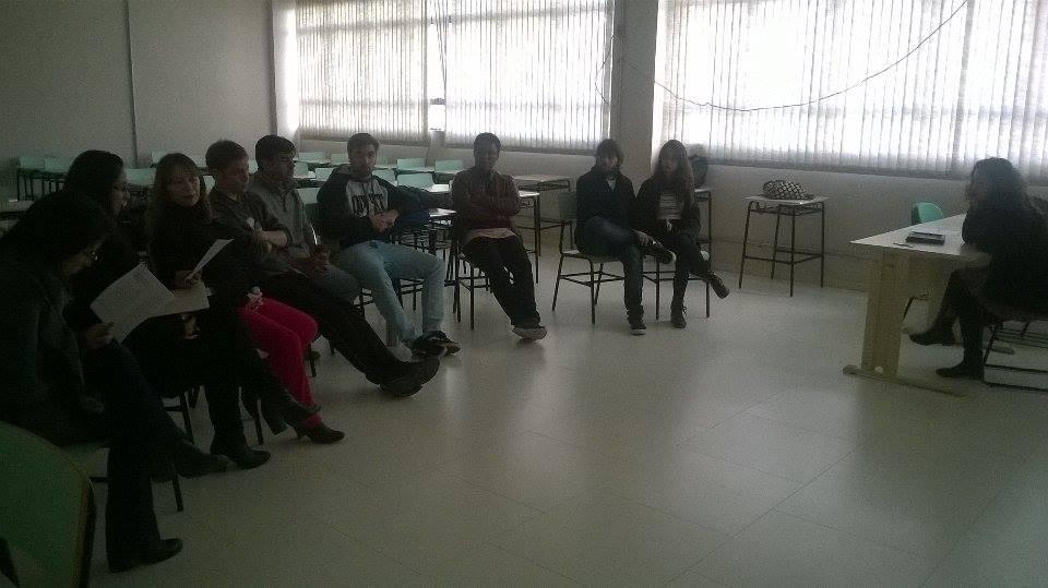 Foto semana acadêmica letras