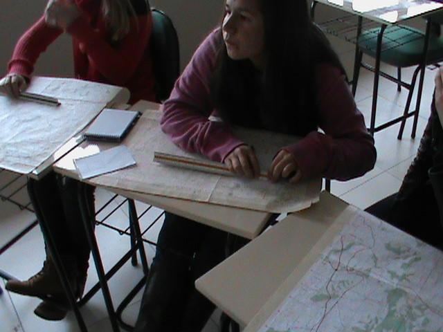 Figura 1 – Uso do escalímetro em Cartas do Serviço Geográfico do Exército.