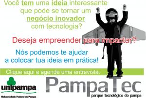 agende seu atendimento no PampaTec