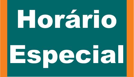 Horário Especial de Atendimento de 13 de janeiro a 06 de março de 2020