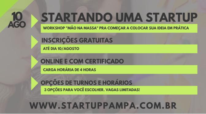 Startando uma startup