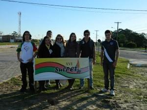 Representantes do PET CTC em Rio Grande (FURG) no XVI Sulpet.