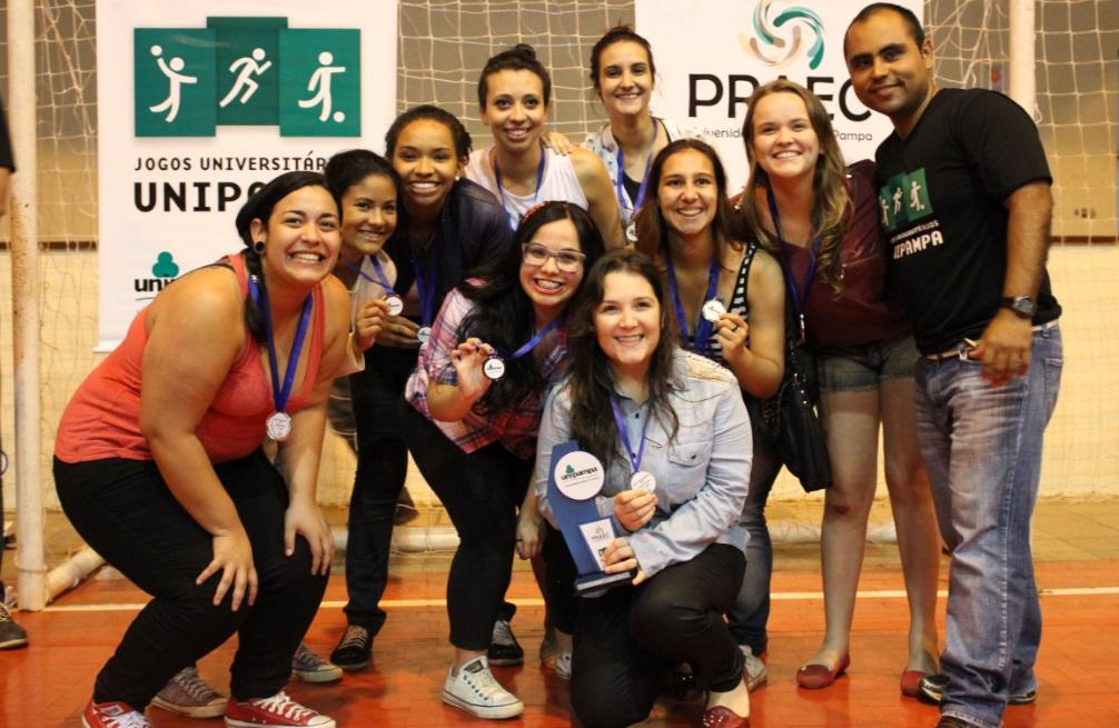 Futsal feminino - 3º lugar - Campus São Borja
