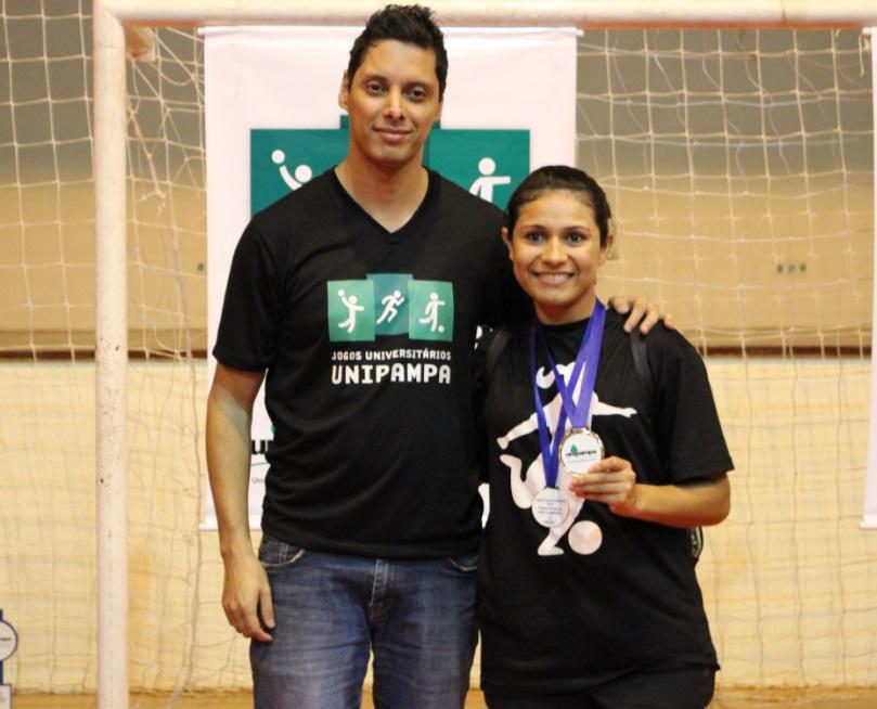 Futsal feminino - goleadora - Cristiane Bolina da Cunha - Campus Alegrete