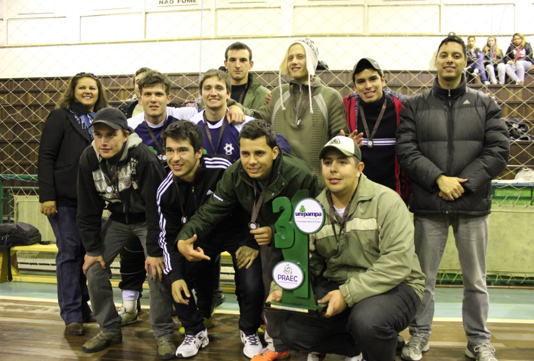 Futsal masculino - 3º lugar - Campus Itaqui