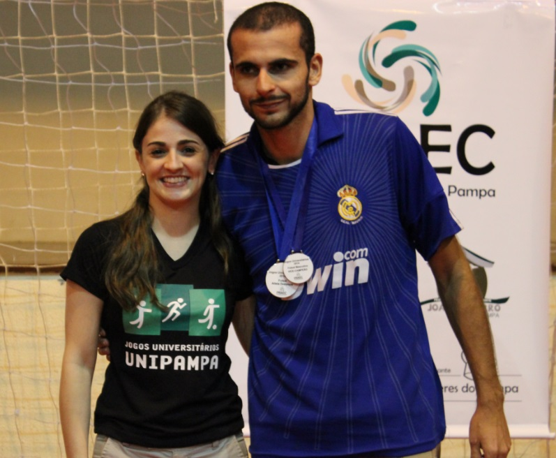 Futsal masculino - atleta destaque - Iuri castro de Rosso - Campus Dom Pedrito