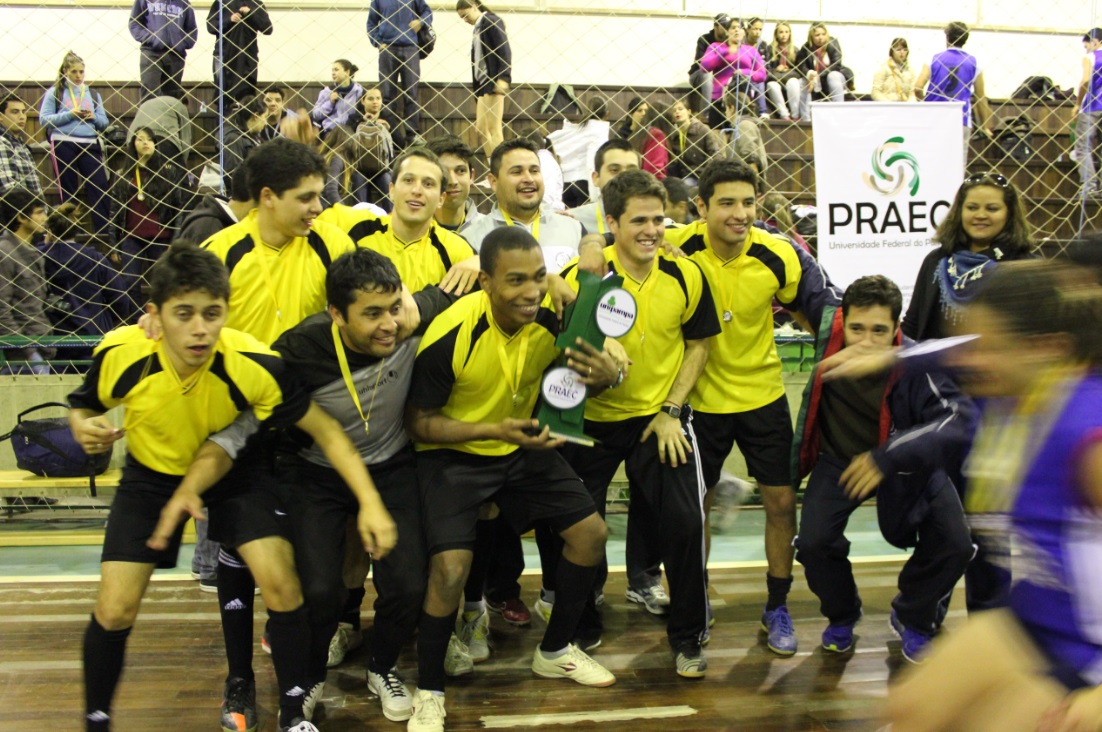 Futsal masculino - campeão - Campus Uruguaiana