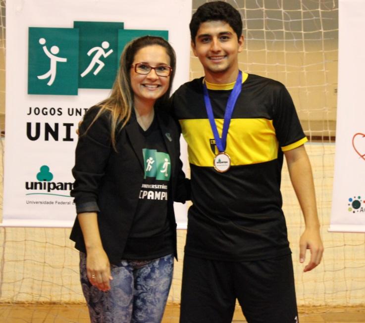 Futsal Masculino - goleador - Lucas Nunes de Castro - Campus Uruguaiana