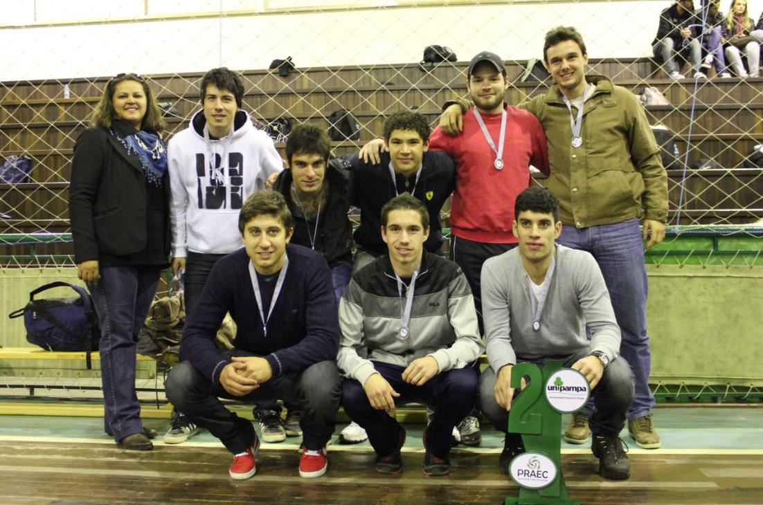Futsal masculino - vice-campeão - Campus Alegrete