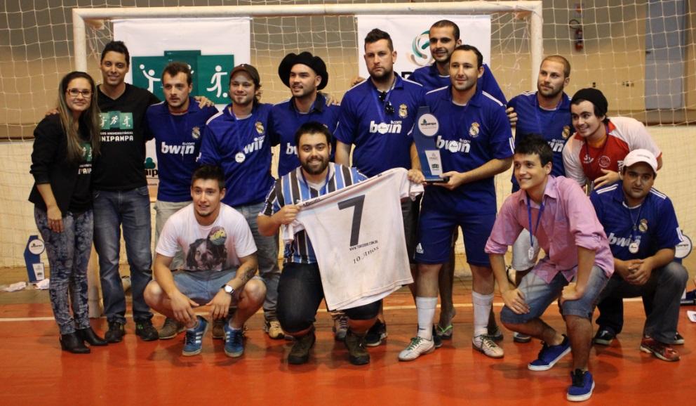 Futsal masculino - vice-campeão - Campus Dom Pedrito
