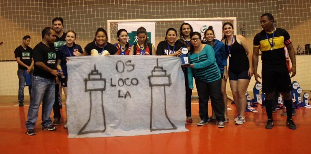 Handebol feminino - 3º lugar - Campus Uruguaiana