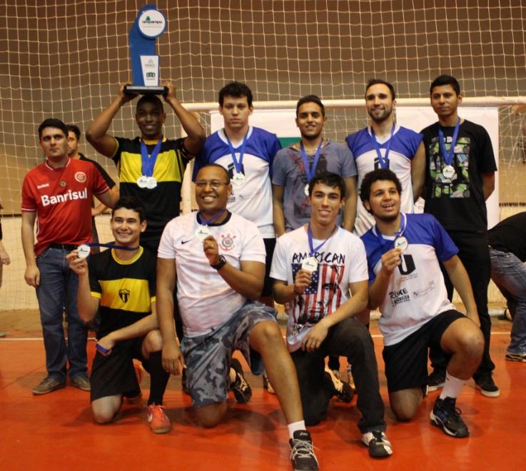 Handebol masculino - campeão - Campus Uruguaiana
