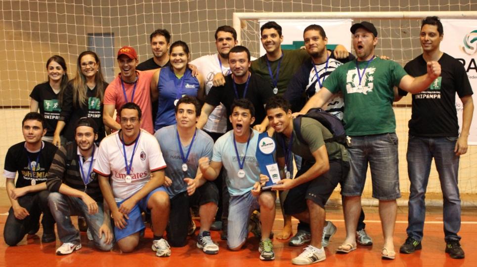 Handebol masculino - vice-campeão - Campus Bagé