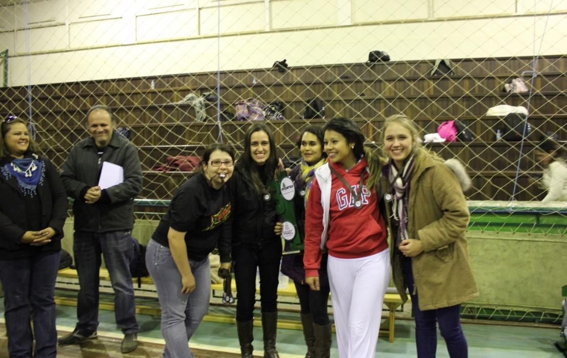 Vôlei feminino - 3º lugar - Campus Santana do Livramento