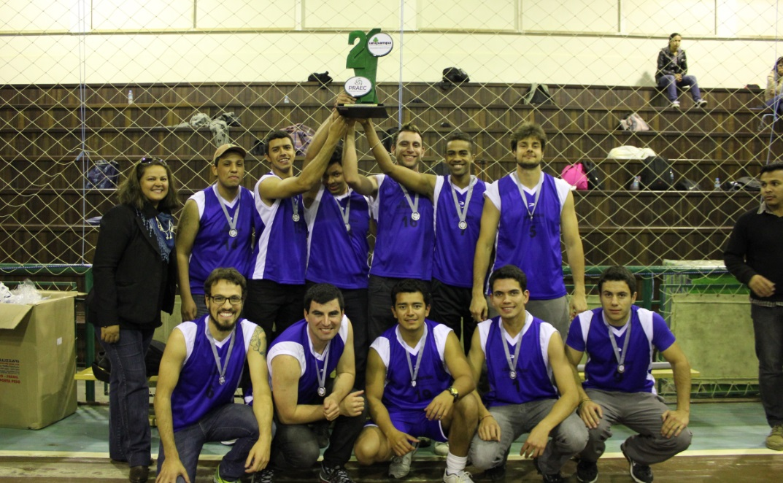 Vôlei masculino - vice-campeão - Campus São Gabriel