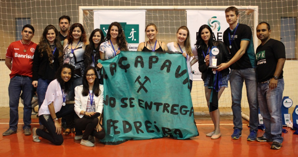Voleibol feminino - 3º lugar - Campus Caçapava do Sul