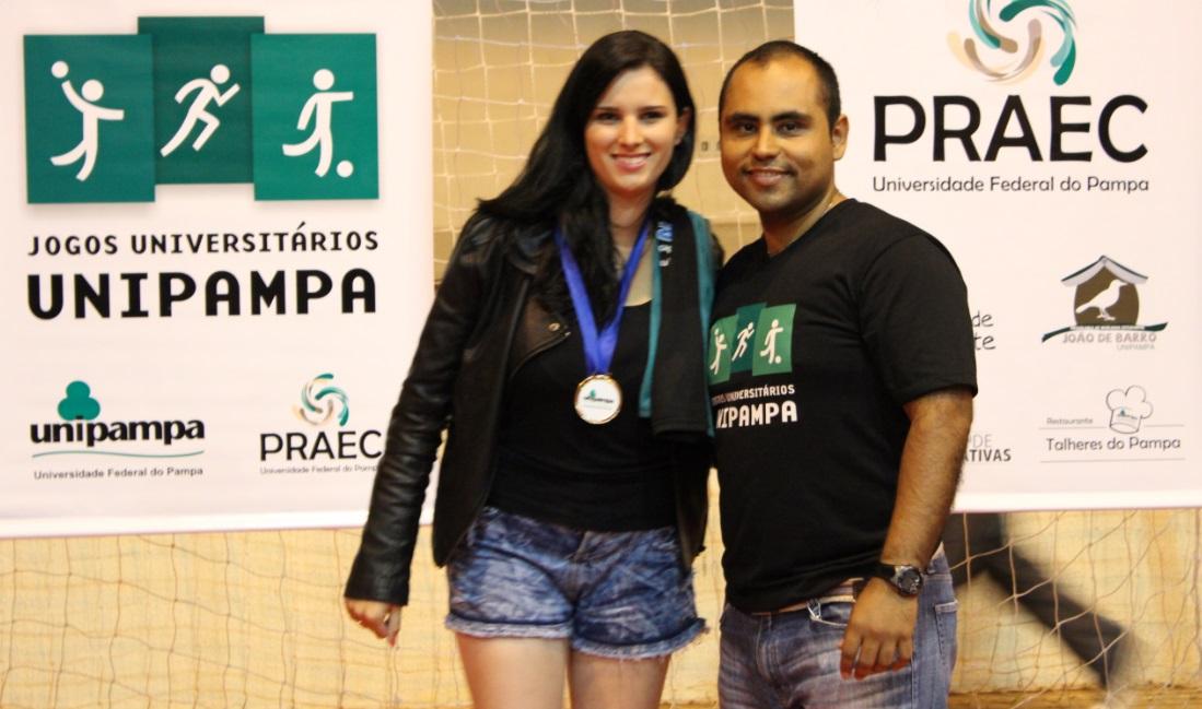 Voleibol feminino - Leticia Martins - Melhor sacadora - Campus Caçapava do Sul