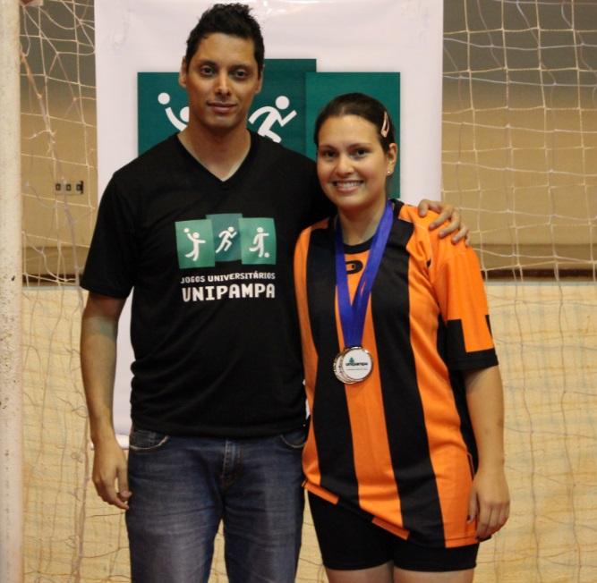Voleibol feminino - Melhor Levantadora - Camille Biron - Campus Bagé