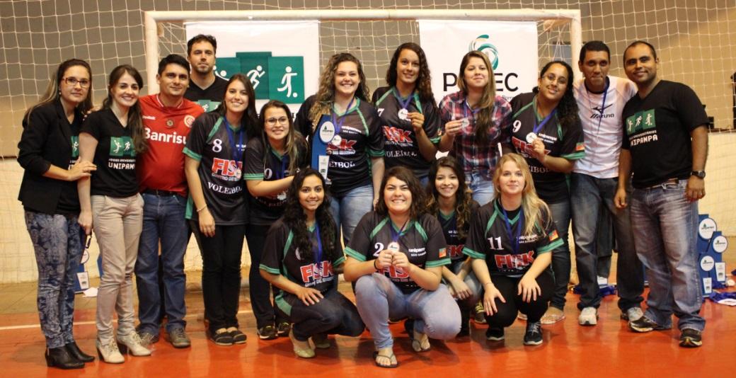 Voleibol feminino - vice-campeã - Campus São Gabriel