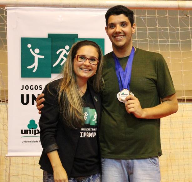 Voleibol Masculino - Melhor atacante - Cassio Coelho Alves - Campus Bagé