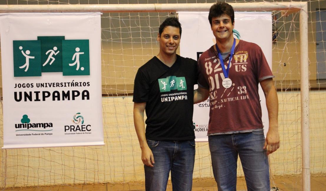 Voleibol masculino - melhor bloqueador - Marcio Salomão da Cruz Bastos - Campus São Gabriel