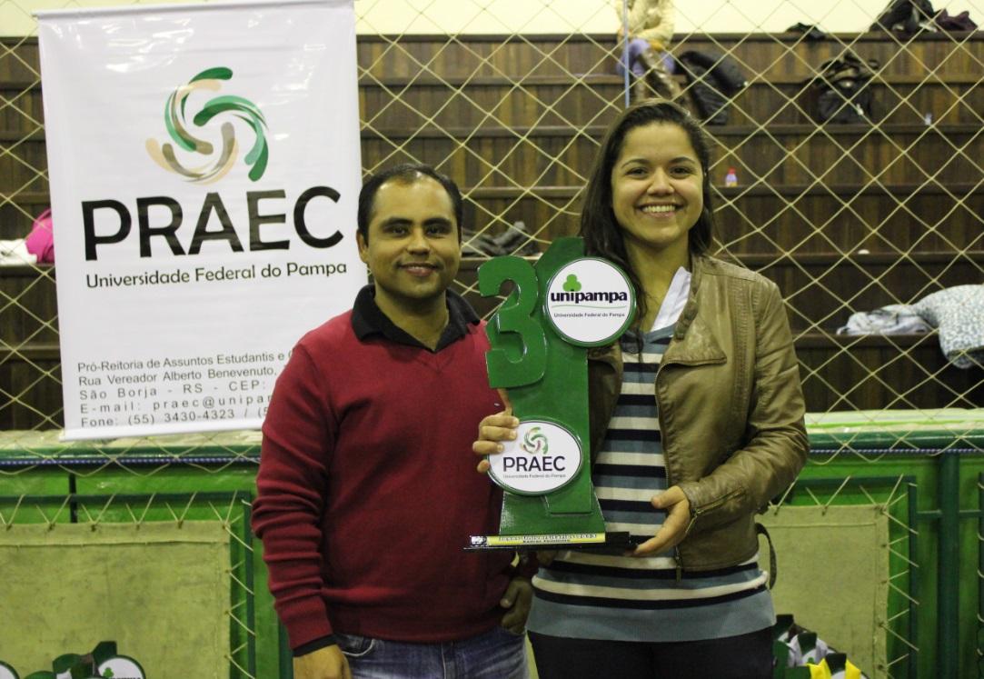Xadrez Feminino - 3º lugar - Anna Maria de Carvalho Lucas - Campus Caçapava do Sul