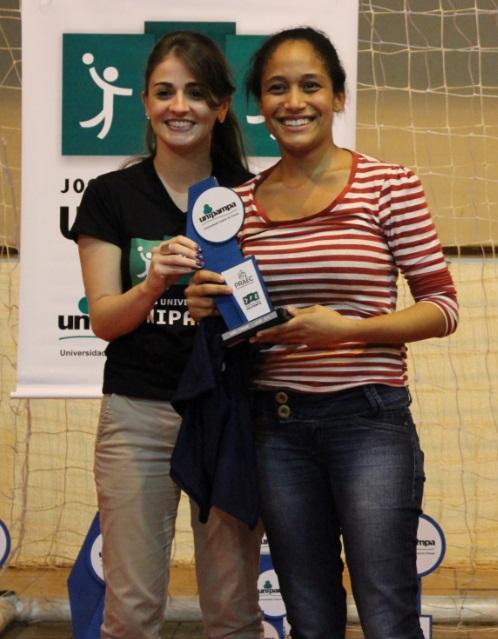 Xadrez feminino - 3º lugar - Giulia Ohana de Souza Costa - Campus Bagé