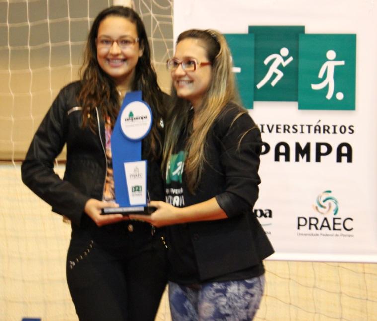 Xadrez feminino - vice-campeão - Natiele Medina Oliveira - Campus São Gabriel