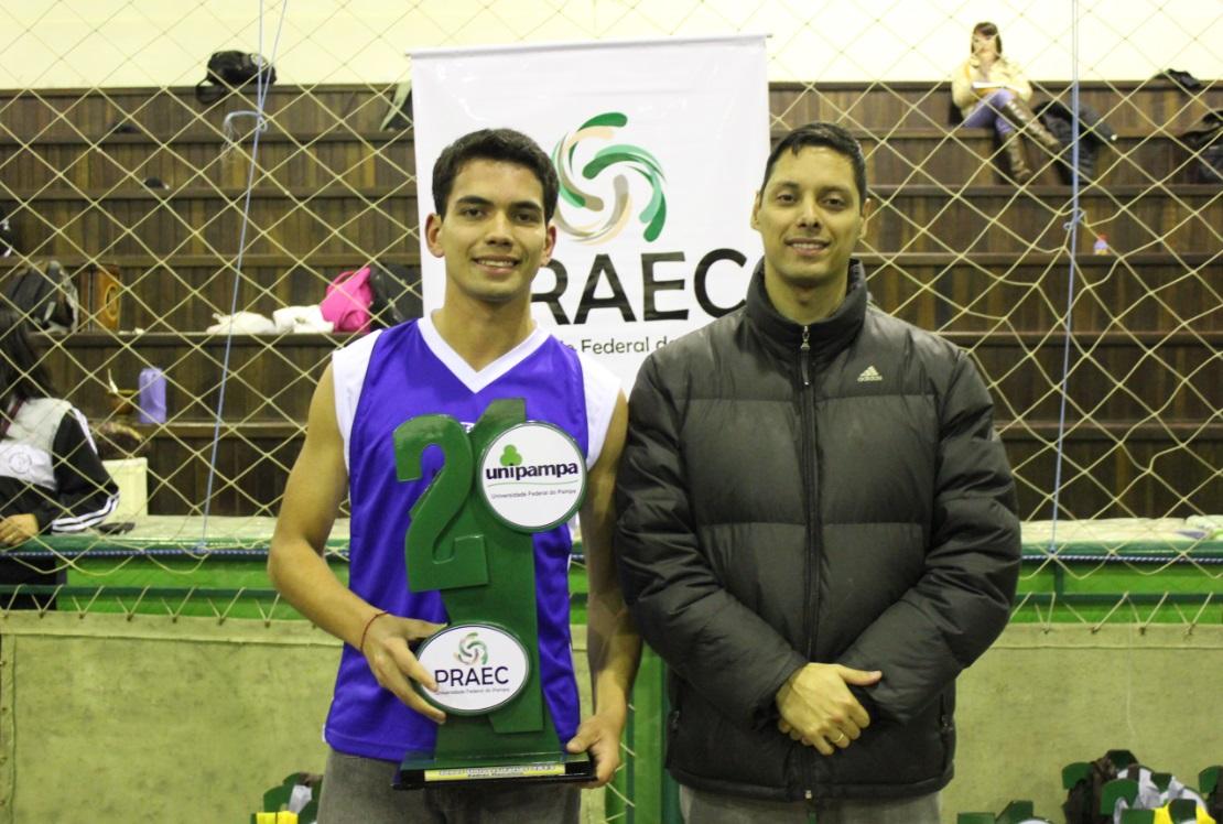 Xadrez Masculino - Vice-campeão - Etchiel Ribeiro Moreira - Campus São Gabriel