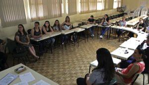 Acadêmicos do Curso de Ciências Humanas participantes do RP